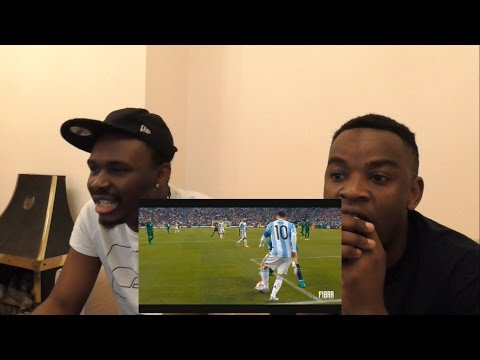 Messi Fans React To: Cristiano Ronaldo Vs Lionel Messi ● Epic Nutmegs Battle || HD ||