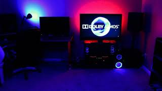 Dolby Atmos Red and blue