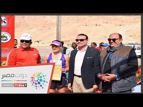 نائب محافظ الأقصر يكرم الفائزين فى ختام فعاليات ماراثون الأقصر الدولي  - 19:54-2019 / 1 / 11