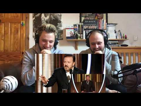 Ricky Gervais Golden Globes 2020 | Reaction!