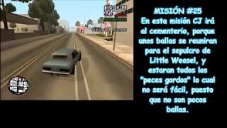 5 Muertos en un cementerio(GTA San Andreas) / Misiones 24 y 25