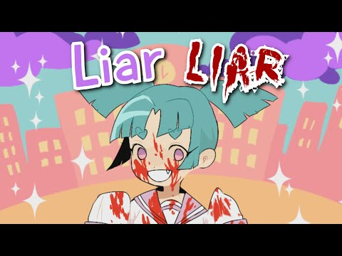 THE MOST CHEERFUL YANDERE EVER | Liar Liar