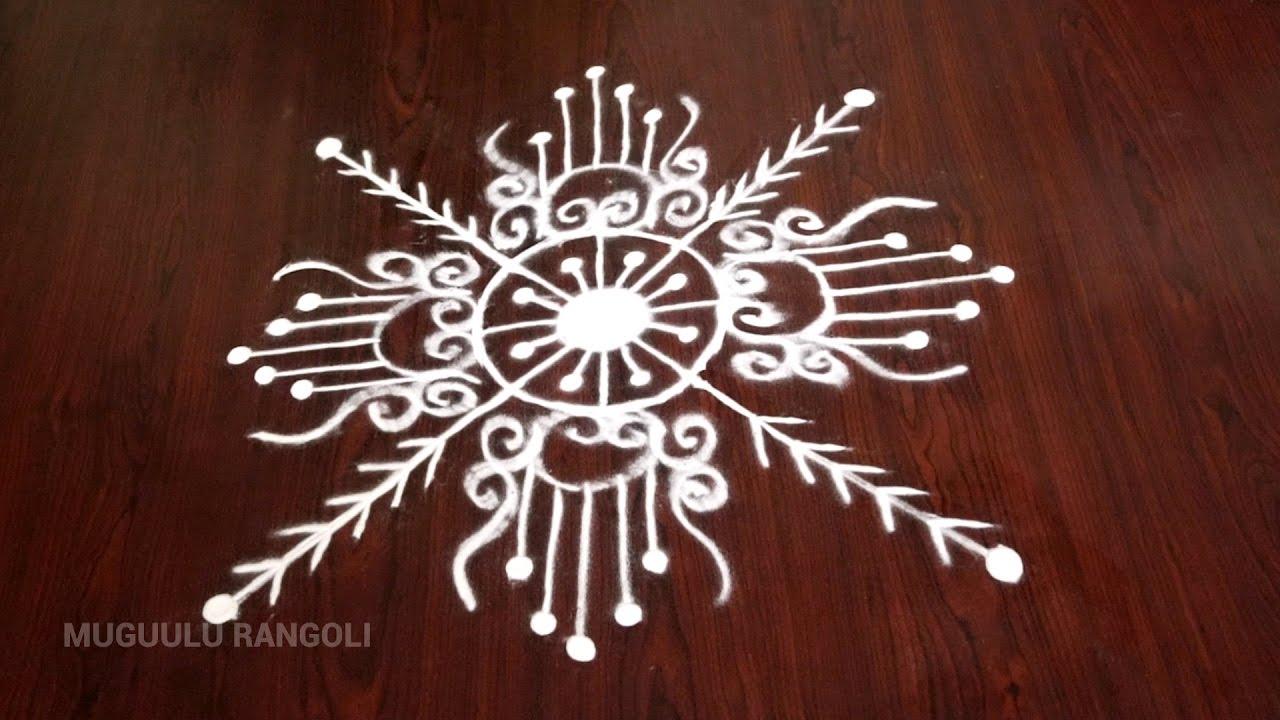 simple free hand rangoli patterns small free hand rangoli free