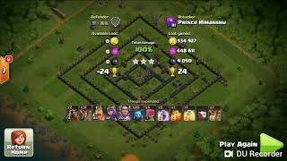 Clash of Clans - Th11 CRYSTAL LEAGUE LOOTS (LAVALOONION)