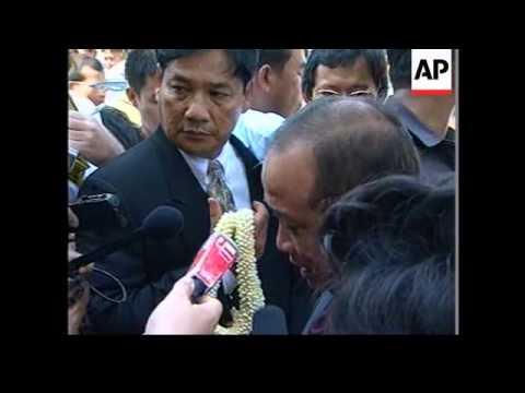 Cambodia - Deposed co-premier Ranariddh returns