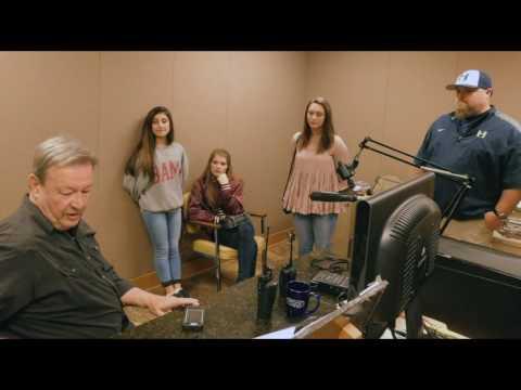 Headland Middle School Newsteam 2017 Tours WOOF Radio