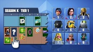 FORTNITE BATTLE PASS CHALLENGE - ADIVINA LA SKIN - 2 TESTS - DIFFERENT ? Tusadivi (tusadivi)