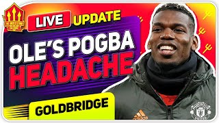 Pogba Transfer Headache! Bissouma To United? Man Utd News