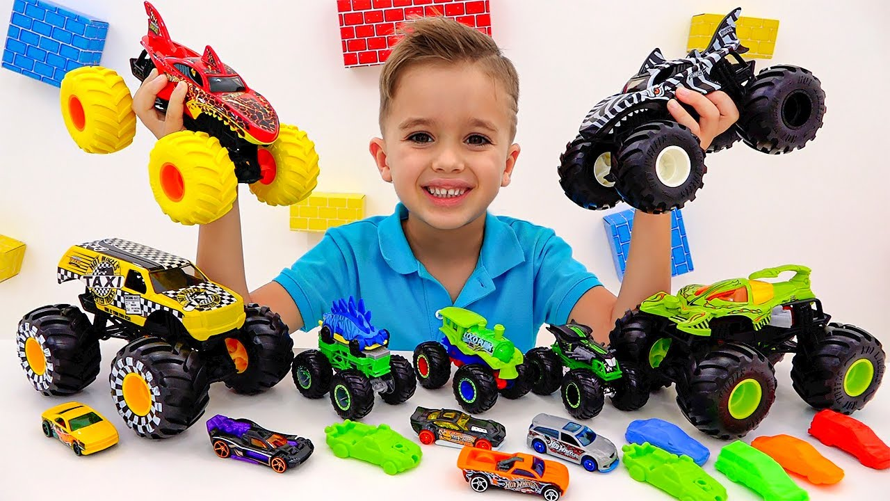 Download Vlad and Niki play and have fun with New Toy Cars and Playsets