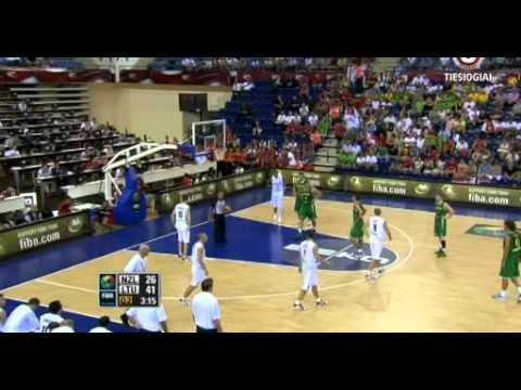 FIBA World Cup New Zealand - Lithuania