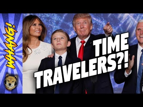 Are Barron Trump and Donald Trump Time Travelers? - Whang!