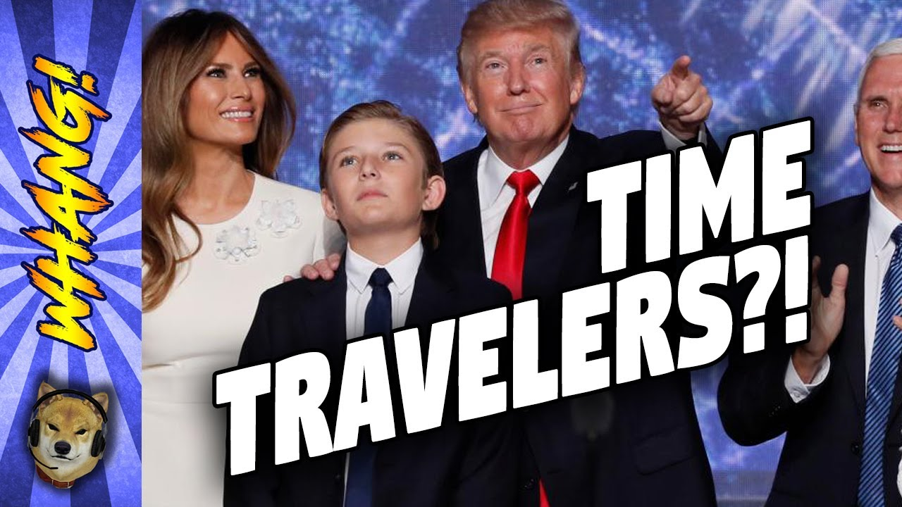 Resultado de imagen para DONALD TRUMP TRAVEL THROUGH TIME