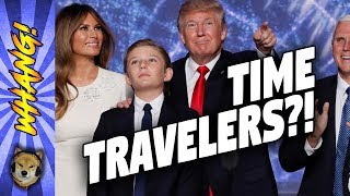 Скачать Are Barron Trump And Donald Trump Time Travelers Whang