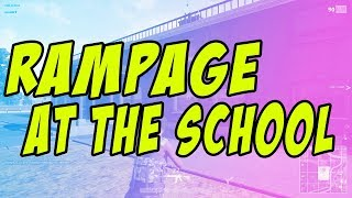 RAMPAGE AT THE SCHOOL! PUBG Gameplay