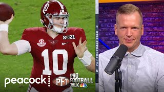 Chris Simms: I'll be shocked if it's not Mac Jones to 49ers | Pro Football Talk | NBC Sports