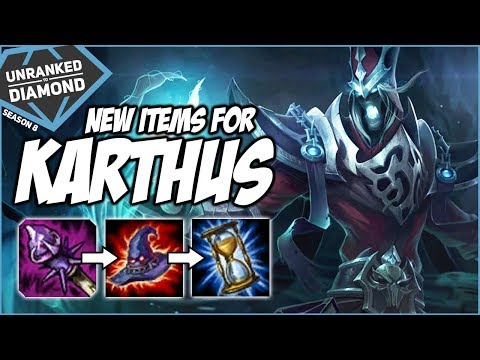 NEW ITEMS FOR KARTHUS - Unranked to Diamond - Ep. 48 | League of Legends thumbnail