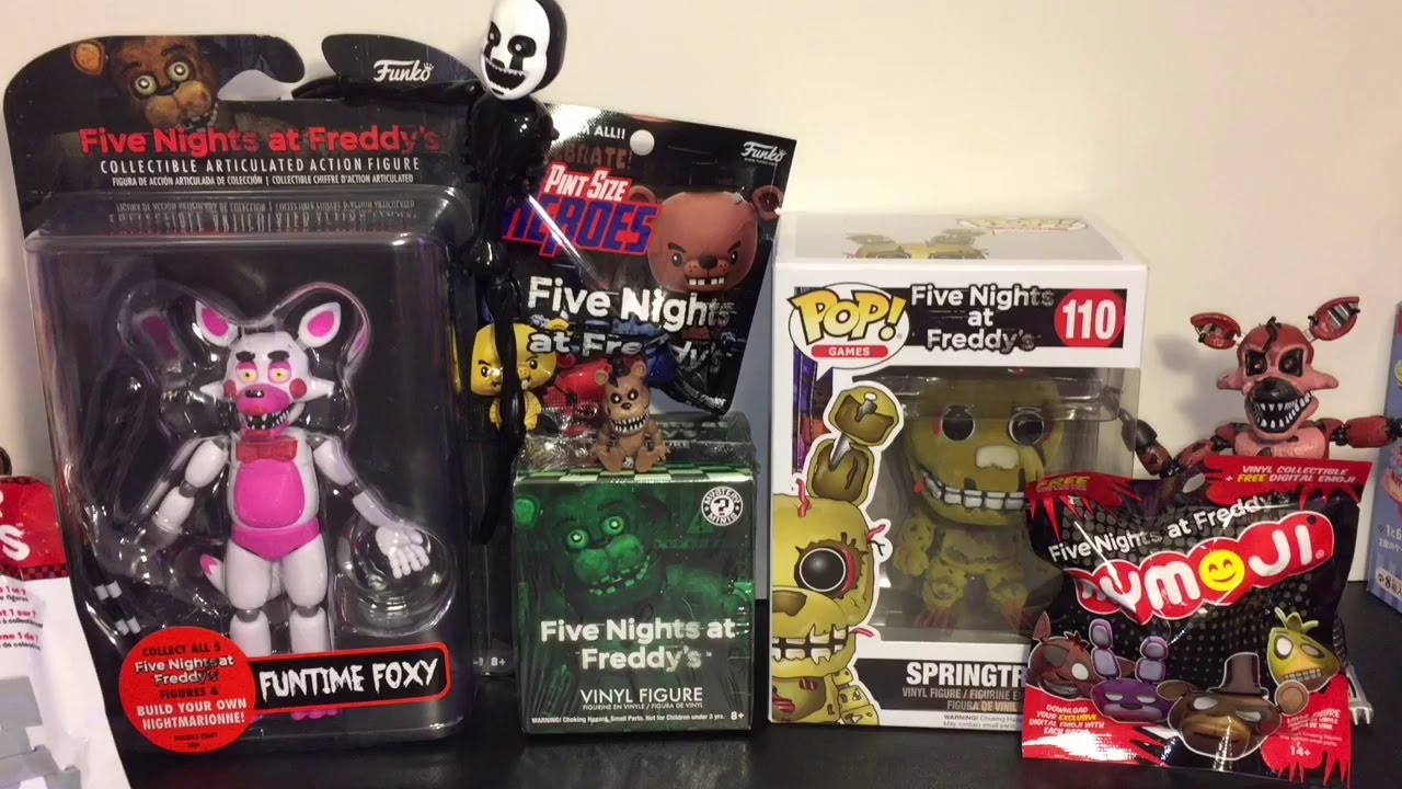 Five Nights At Freddy S Mangle Funtime Foxy Blind Bags