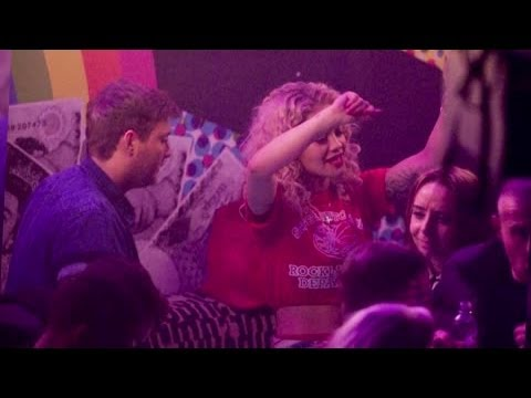 Rita Ora and James Arthur Party on a Pre Valentine's Day Date - Splash News | Splash News TV Mp3