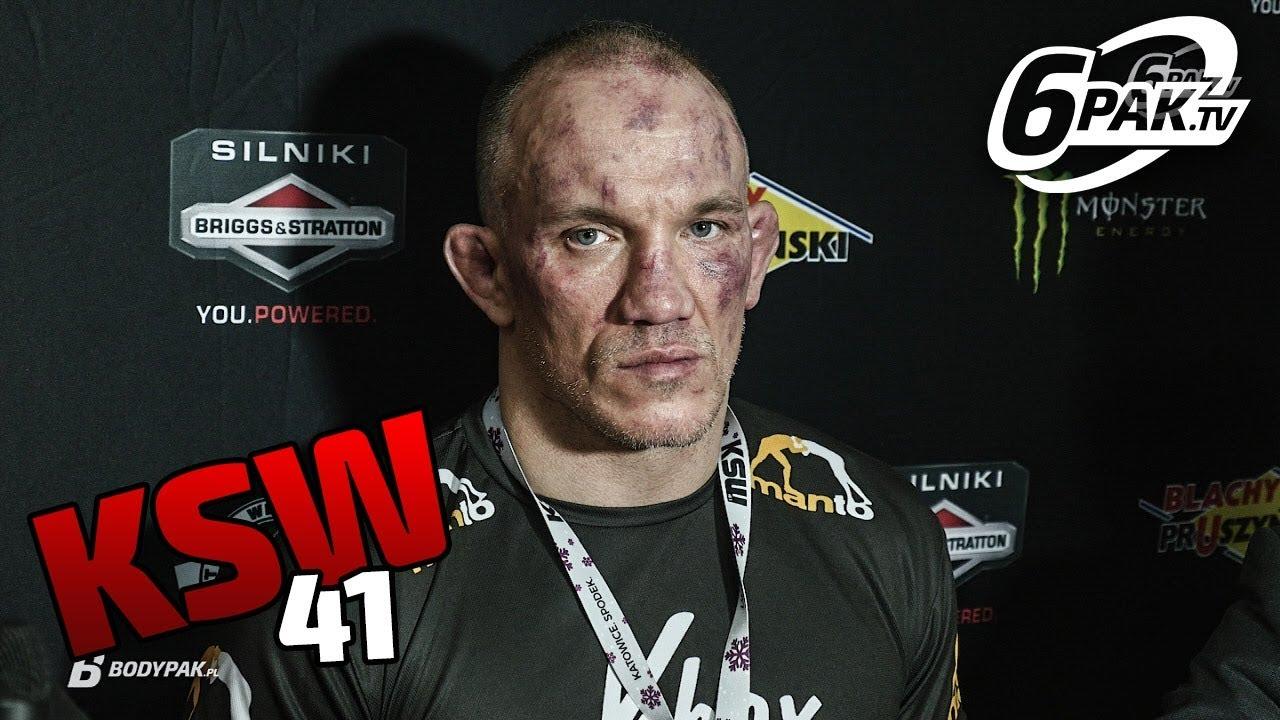 KSW 41 Antonii Chmielewski po przegranej o zbliżającym się końcu kariery