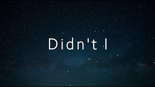 Gambar cover OneRepublic - Didn't I (한국어,가사,해석,lyrics)