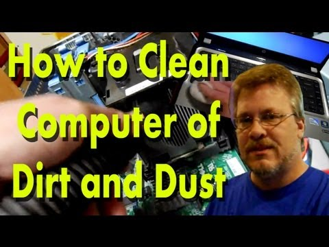 How to Clean a Dirty Laptop or Desktop Computer