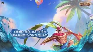 Lữ Bố Tiệc bãi biển ra khỏi Kho Báu - Garena Liên Quân Mobile
