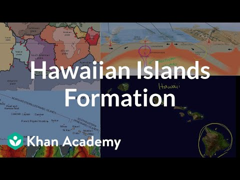 Hawaiian islands formation | Cosmology & Astronomy | Khan Academy