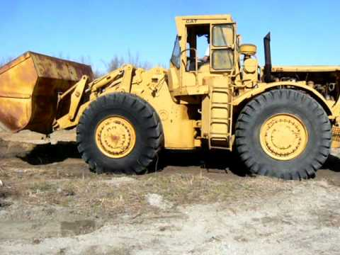 Cat 988 Rubber Tire Loader Youtube