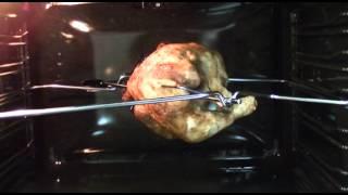 курица гриль на вертеле.MTS