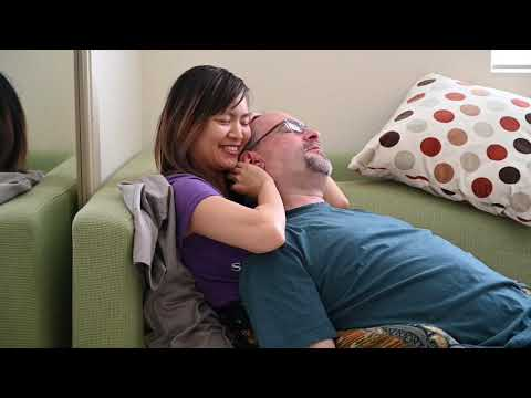 Watch a Professional Cuddling Session (role play)