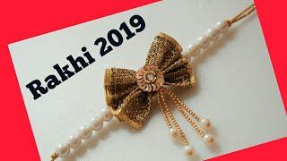 Latest rakhi design || Rakhi making at home || Rakshabandhan 2019