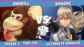 GOML 2020 SSBU - DKwill (Donkey Kong) Vs. Shadic (Corrin) Ultimate Top 256