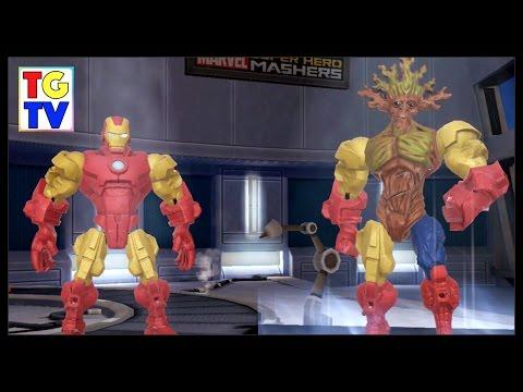 Marvel Super Hero Mashers Groot | Mix + Smash