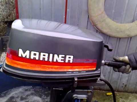 Mariner 5 Hp Outboard Motor 2000r 2 Stroke Dwusuw Youtube