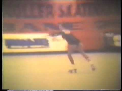 Natalie Dunn USA, 1975 World roller skating championships