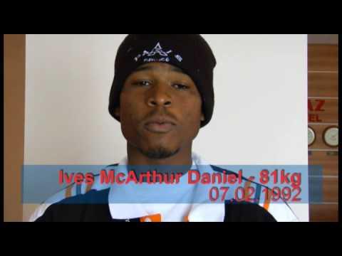 Rapper and Boxer Ives McArthur Daniel Netherlands Antilles