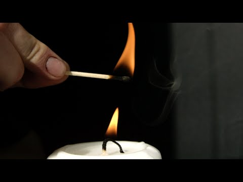 Lighting a Candle Without Touching it in Slow Motion - The Slow Mo Guys