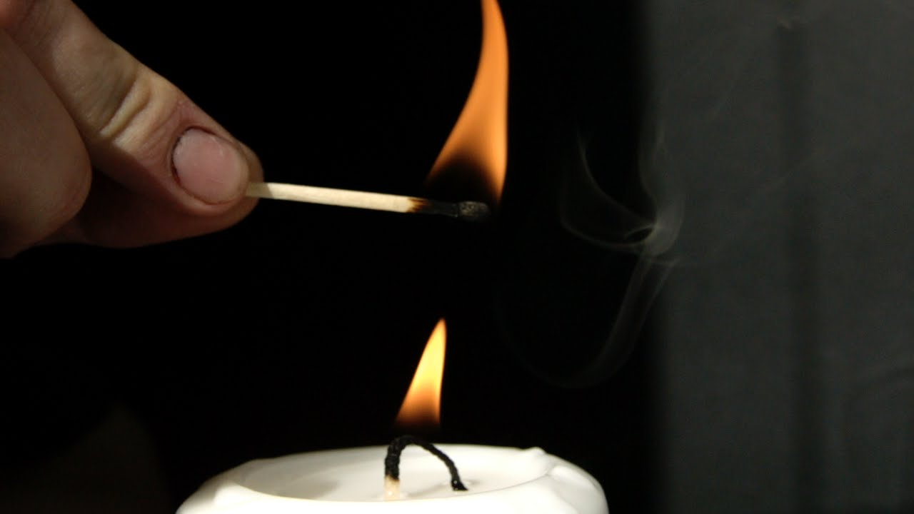 Lighting a Candle Without Touching it in Slow Motion - The ...