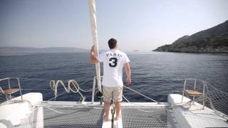 Sailing a Lagoon 39 Catamaran in Greece
