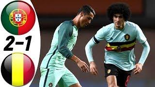 Португалия Бельгия 2 1 Обзор Товарищеского Матча 29 03 2016 HD