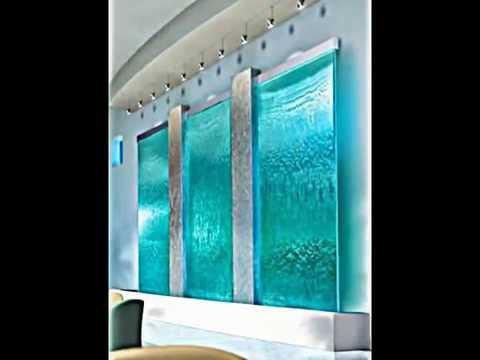 3 moderne Zimmerbrunnen und Indoor Wasserfall Ideen  YouTube