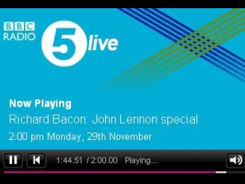 IMAGINE The Tribute - Stand By Me - Live on BBC Radio 5 Richard Bacon Lennon Special