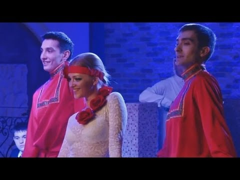 Калинка Малинка в Торговом центре \ Russian song Kalinka Malinka at mall by choir