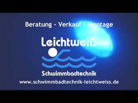 Pool-Beleuchtung LED S-Line - YouTube
