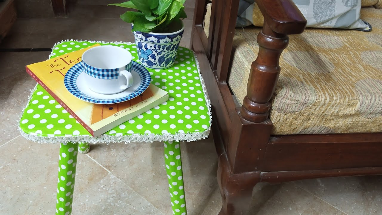 Small table/ننڍڙي ٽيبل/diy/how to make/tutorial/Sindhi/Hindi/Urdu