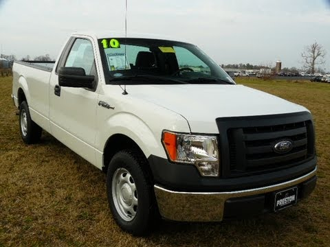 Used Truck Maryland Ford Dealer 2010 F150 Xl Work