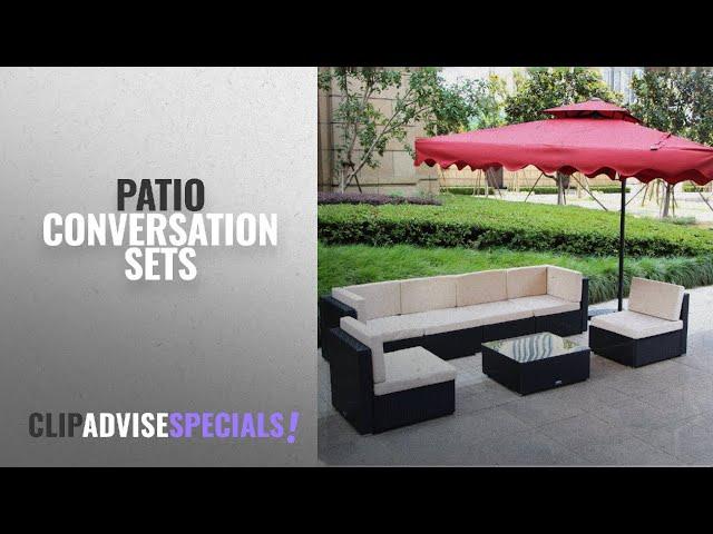 10 Best Patio Conversation Sets [2018 Best Sellers] | Patio Furniture Sets