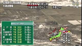 2011年3月11日 車が流される 人が飲まれる 津波