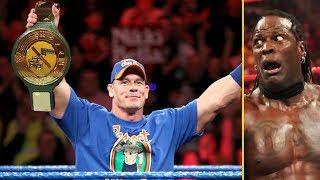 5 Wrestlers Rumored to Win WWE 24/7 Title Soon - John Cena Wins 24/7 Title