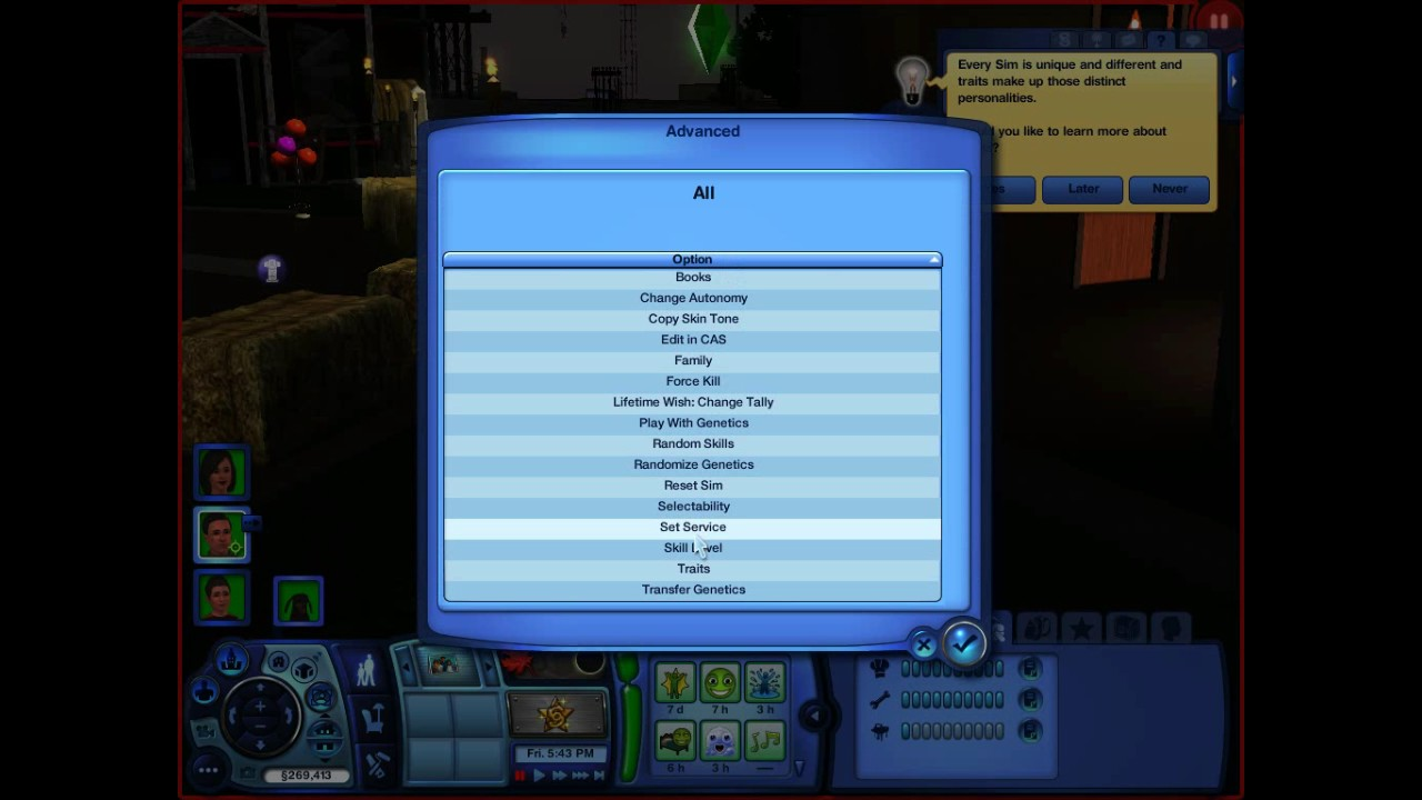 can anyone help with a skills cheat please????? — The Sims ...
